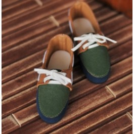 1/3 SD13 SD17 Deck shoes RHL004 Olive Pie