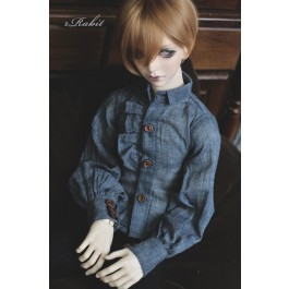 1/4 *Basil Shirt * BSC023 1804 (Blue)