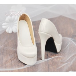 1/4 & Angel Philia [Coven Two]+[Creamy White (Satin)] High heel Platform pumps shoes