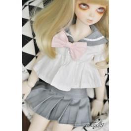 1/3 Girl SD13/10 DD - Sailor Cute Dress Set - CP010 003 (Grey)