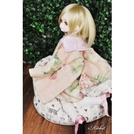[Limited] 1/3 Haori Coat 羽織 - Spring Garden