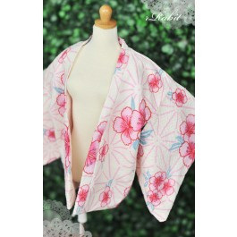 [Limited] 1/3 Haori Coat 羽織 - Sakura Spring