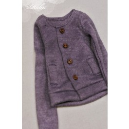 1/4 Cute Round Neckline Sweater coat KC020 1625