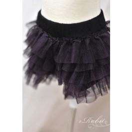 MISKA*1/4 Lace Pants - MSK007 011