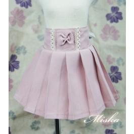 MISKA*1/4 High-waisted Pleated skirt - MSK012 003