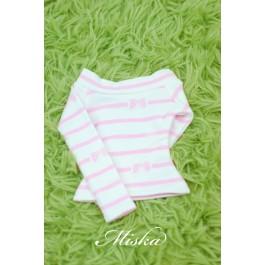 MISKA*1/4 Off-Shoulder T-shirt - MSK015 009