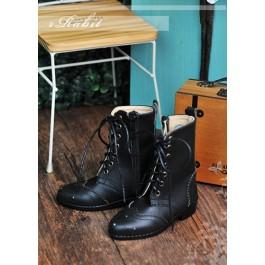 1/3 SD13 SD17 Antique Boots - RHL003 Black