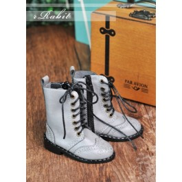 1/4 MSD MDD Rosie Holiday Antique Boots - RHL003 Light Grey