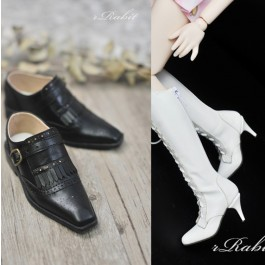 [Jan Pre]SD13/SD17 - Bourbon Oxford Shoes- RSH004 White