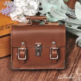 1/3 School Bag - Brown