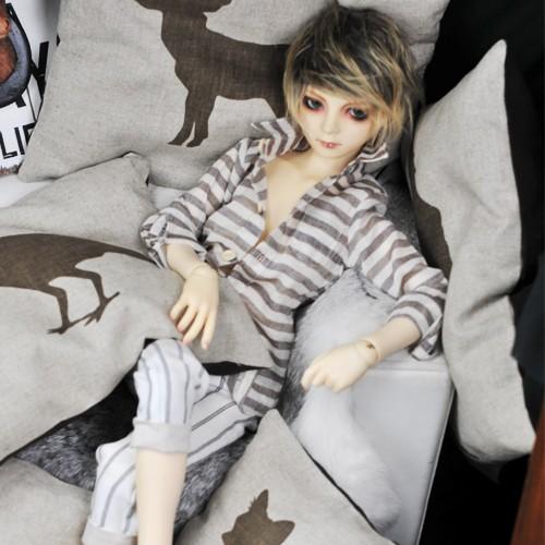 Home Acc. Linen Cushion 31X25cm