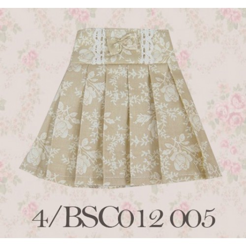 1/3 High-waisted Pleated skirt - BSC012 1505