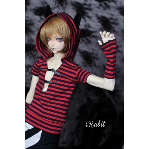[Halloween]1/3/SD17 Boy - [The Little Devil] DF001 1903(RedxInk Stripe)