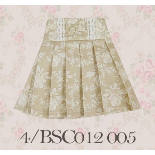 1/4 High-waisted Pleated skirt - BSC012 1505
