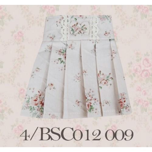 1/4 High-waisted Pleated skirt - BSC012 1509