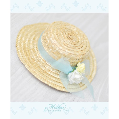 Miska*Straw Ribbon Hat MSH001 - Mint