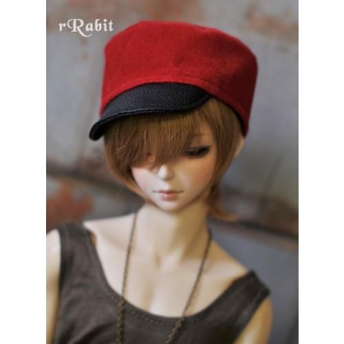 1/3 [Velvet Kepi Hat] AS005 006 (Red)