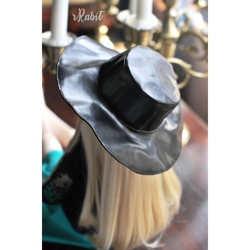 1/3[Witchcraft Academic] Wide Brimmed hat - AS006 002(Leather)