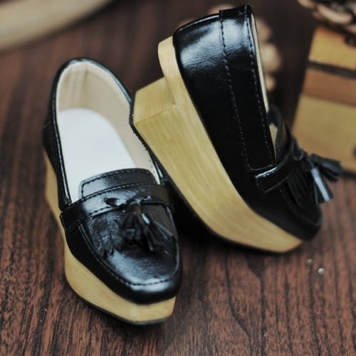 SD13Boy [BLS002] Tassel Rocking Shoes - Black