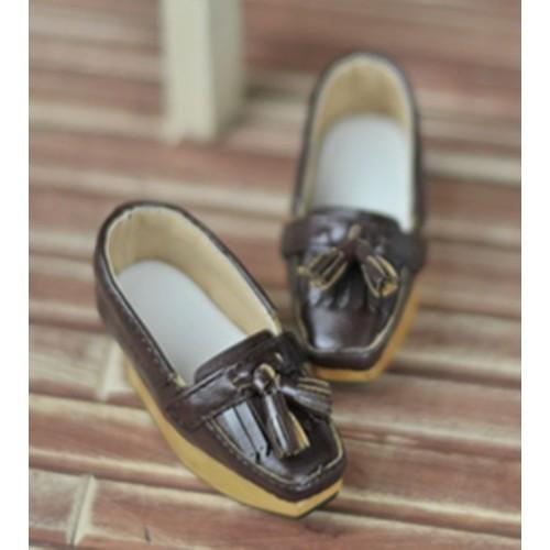 1/4 MSD MDD Rosie Holiday [BLS002] Tassel Rocking Shoes - Oil Brown