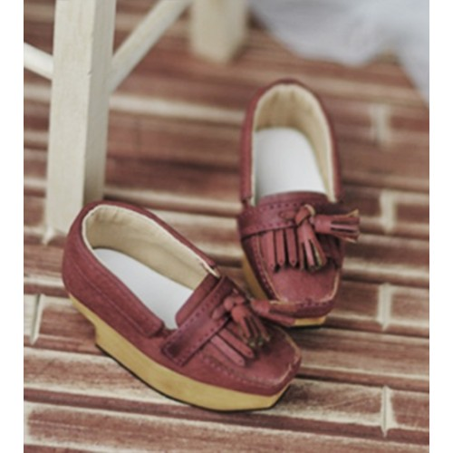 SD10/13 Girl [BLS002] Tassel Rocking Shoes - Red