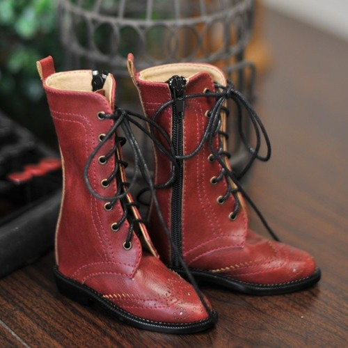 1/3 Girl SD10/13/16/DD Wingtips boots BLS005 - Red