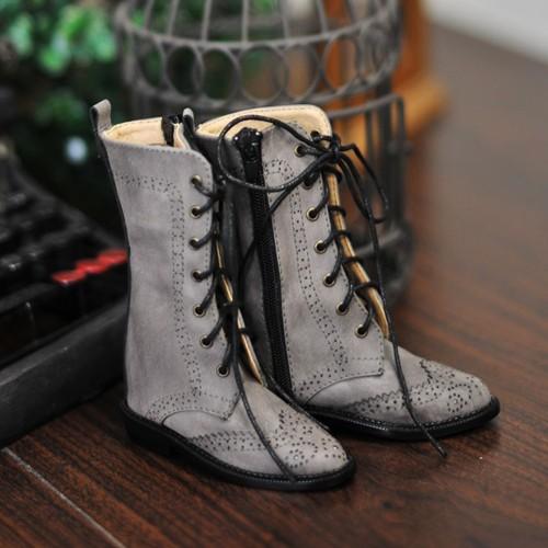 1/3 Girl SD10/13/16/DD Wingtips boots BLS005 - Dusty Grey
