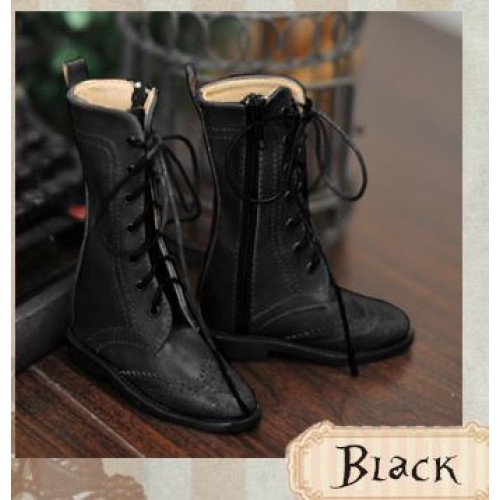 1/3 Girl SD10/13/16/DD Wingtips boots BLS005 - Black
