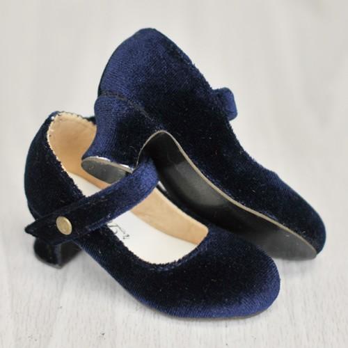 [Pre May] 1/4 MSD Girl Velvet Wine Glass Heels  [BLS006] Royal Bue