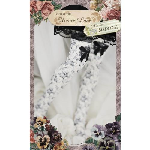 1/3 Socks -Flower Lace BSS140701 / SD10/SD13/SD16/SD17