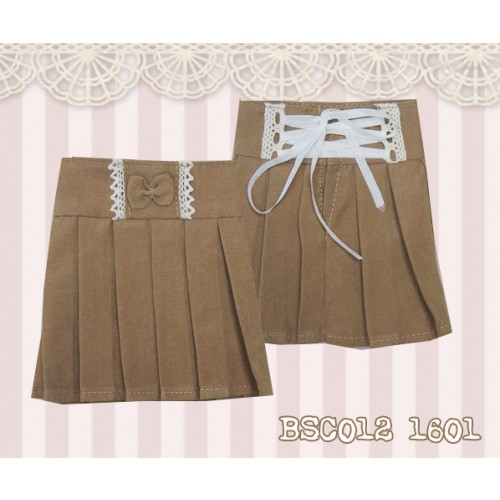 1/4 High-waisted Pleated skirt - BSC012 1601