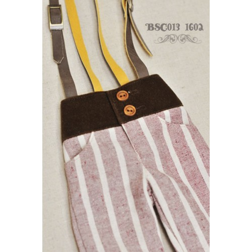 1/3 Capri Pants with Suspenders  BSC013 1602