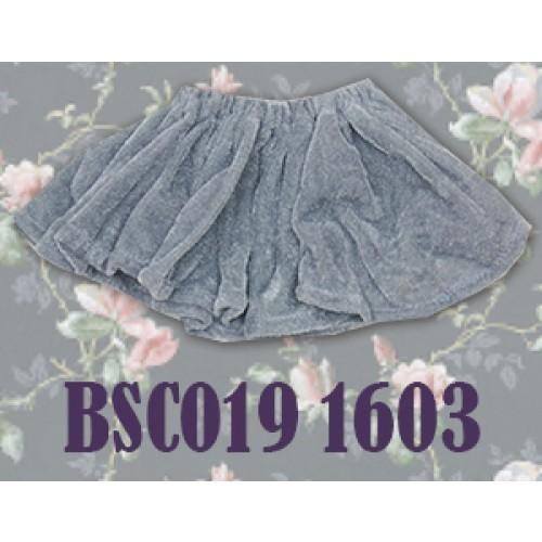 1/4 Velvet Skirt - BSC019 1603 (Grey)