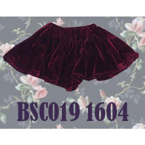1/3 Velvet Skirt - BSC019 1604 (Wine)
