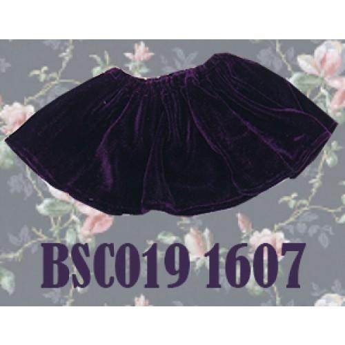 1/4 Velvet Skirt - BSC019 1607 (Violet)