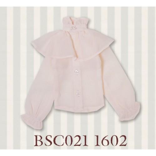 1/3 SD10/16/DD size 1/3 Girl & Slim Boy*Alice Shirt*BSC021 1602 (Light Pink)