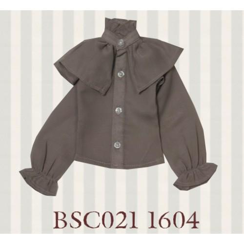 1/3 SD10/16/DD size 1/3 Girl & Slim Boy*Alice Shirt*BSC021 1604 (Grey Brown)