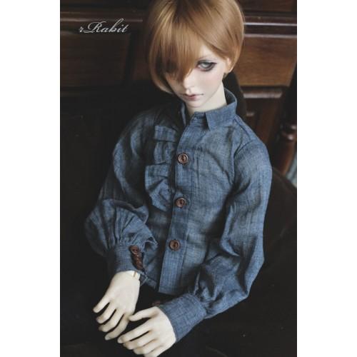 1/4 *Basil Shirt * BSC023 1804 (Blue)