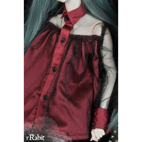 1/4 free size: Tiara Dress - Halloween theme's BSC024 1706 (Red)