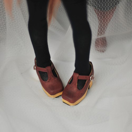 1/3 Girls - [Coven One] T-sharp shoes - Red