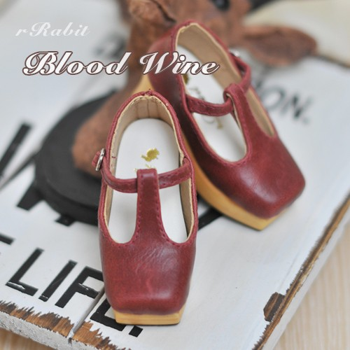 1/3 Girls - [Coven One] T-sharp shoes - Blood Wine