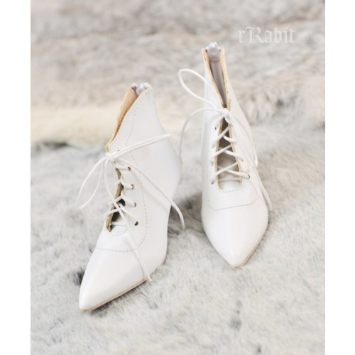 SD17/IP's Girl + Pointed Toe Ankle Boots [Coven Three] - Pale Powder