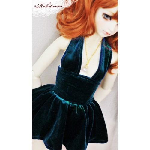 1/3 Gril - Velvet Night Dress - CP006 1703 (Lake blue)