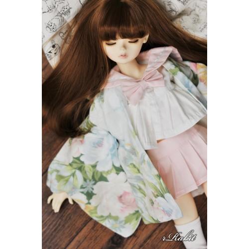 [Limited] 1/4 Haori Coat 羽織 - Summer Garden