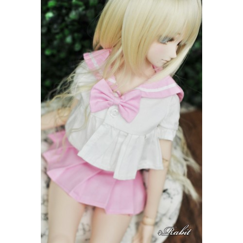 1/4 MSD MDD Holiday Angel Philia - Sailor Cute Dress Set - CP010 006 (Pink)