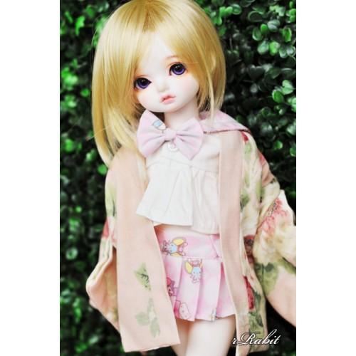 [Limited] 1/4 Haori Coat 羽織 - Spring Garden