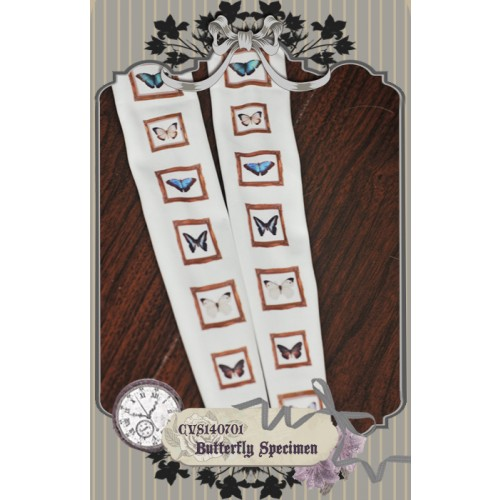 1/3 & 1/4 Socks CVS140701 Butterfly Specimen