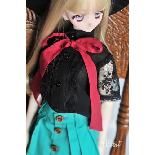 1/3 [Witchcraft Academic] - Jojina Shirt - CVZ001 002 (Black w/ Red ribbon)