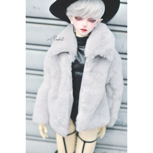 1/3 Sugar Fur Coat - DF003 1903 (Light Grey)