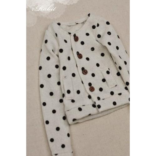 1/4 Cute Round Neckline Sweater coat KC020 1630